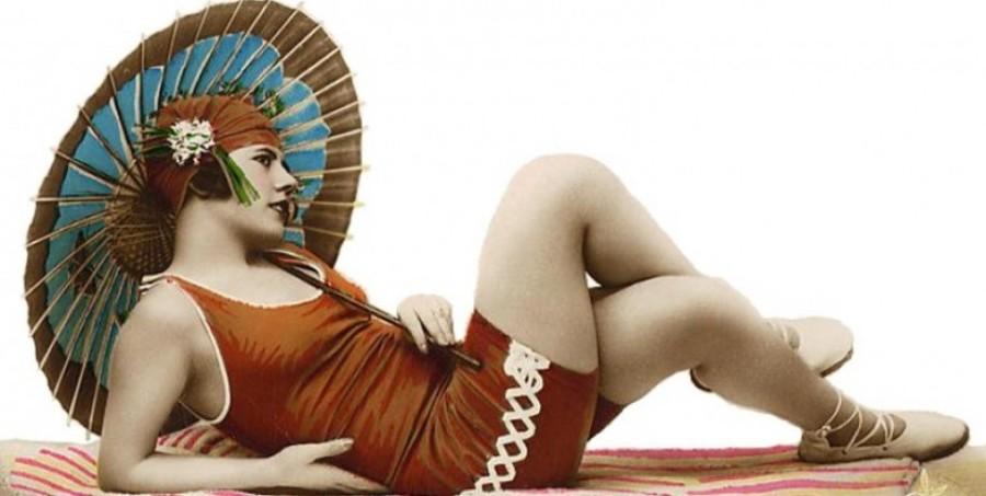 cropped cropped costume da bagno anni 20jpg